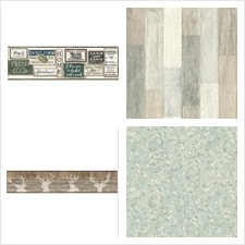 York Wallcovering Collection C12-Rustic Living