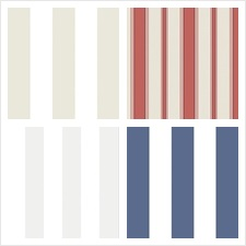 Cole & Son Wallcovering Collection Cole & Son Festival Stripes