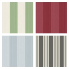 Cole & Son Wallcovering Collection Cole & Son Marquee Stripes