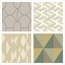Cole & Son Wallcovering Collection Cole & Son Geometric II