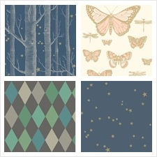 Cole & Son Wallcovering Collection Cole & Son Whimsical