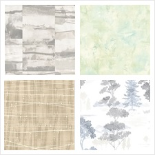 Norwall Wallcovering Collection Fresh Watercolors