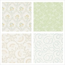Schumacher Wallcovering Collection Wallflowers
