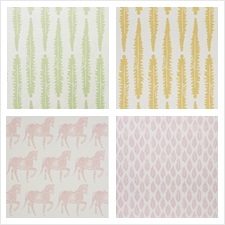 Schumacher Wallcovering Collection Molly Mahon Wallpapers