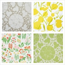 Schumacher Wallcovering Collection Flower Power