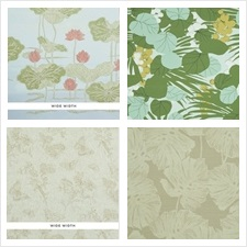 Schumacher Wallcovering Collection Perennial Favorites