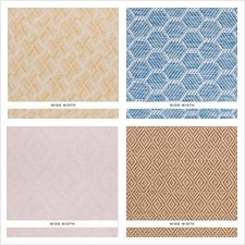 Schumacher Wallcovering Collection Woven Wallcoverings