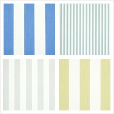 Schumacher Wallcovering Collection Stripes Wallcovering