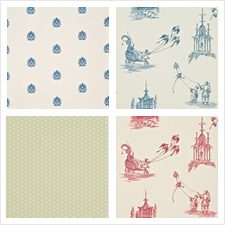 Baker Lifestyle Wallcovering Collection Homes & Garden