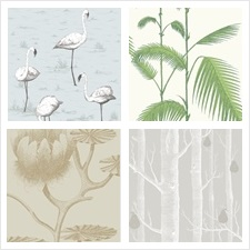 Cole & Son Wallcovering Collection Contemporary Restyled