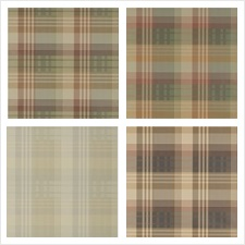 Mulberry Home Wallcovering Pattern Mulberry Ancient Tartan