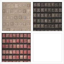 Andrew Martin Wallcovering Pattern Penny Post