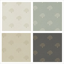 Mulberry Home Wallcovering Pattern Grand Mulberry Tree