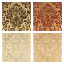 Mulberry Home Wallcovering Pattern Fresco Damask
