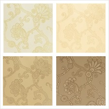 Mulberry Home Wallcovering Pattern Marquise Damask