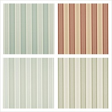 Mulberry Home Wallcovering Pattern Narrow Ticking Stripe