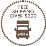 Free Shipping On Orders of $200 or More