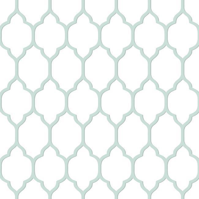 BA4508 Casabella II Moroccan Trellis Wallpaper By York