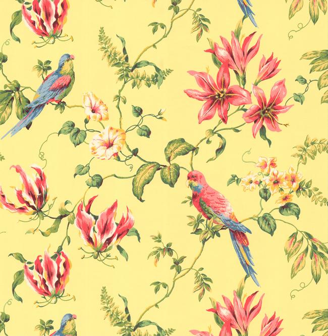 CJ2800 Casabella II Tropical Floral Wallpaper By York