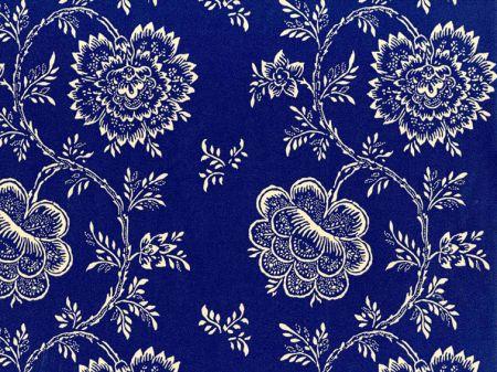 lwp60727w brant lodge floral indigo by ralph lauren - Ralph Lauren Indigo