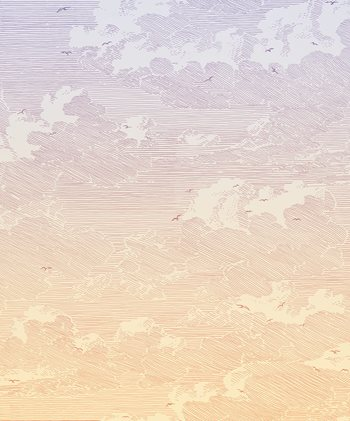 366109 Sunset Wall Mural by Brewster