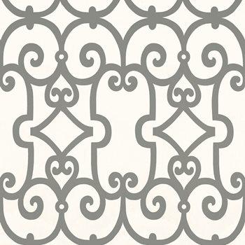 5005053 Manor Gate Charcoal By Schumacher Wallpaper