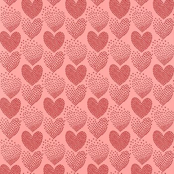 5008361 Heart Of Hearts Red & Pink by Schumacher