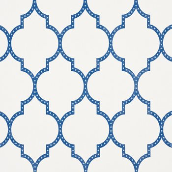 5009011 Algiers Paperweave Blue by Schumacher