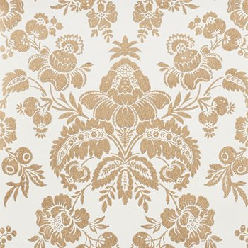 5009610 Simone Damask Gold by Schumacher