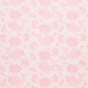 5009752 Lotus Batik Pink by Schumacher