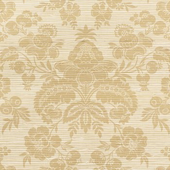 5010121 Simone Damask Grasscloth Gold by Schumacher