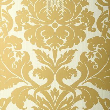 529192 Fiorella Damask Patina by Schumacher