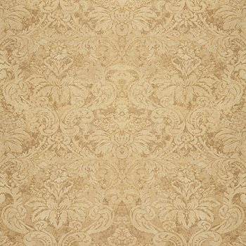 529911 Damasco Metallico Gold Leaf by Schumacher