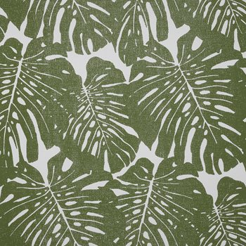 5336 Jacks Jungle Palm on White Paperweave by Phillip Jeffries