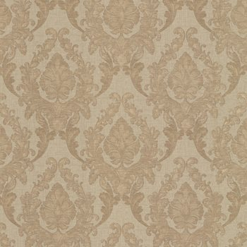991-68273 Regal Brass Damask by Brewster