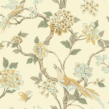 AF1904 Ashford Toiles Fanciful Wallpaper by York