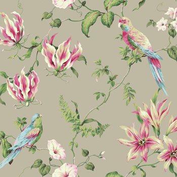 BA4575 Casabella II Tropical Floral Wallpaper By York