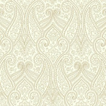 BH8316 Kashmir Luxury Paisley Wallpaper by York
