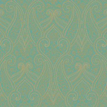 BH8319 Kashmir Luxury Paisley Wallpaper by York