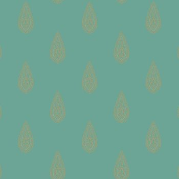 BH8327 Kashmir Luxury Teardrop Wallpaper by York