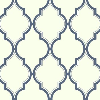 BH8337 Kashmir Luxury Trellis Wallpaper by York