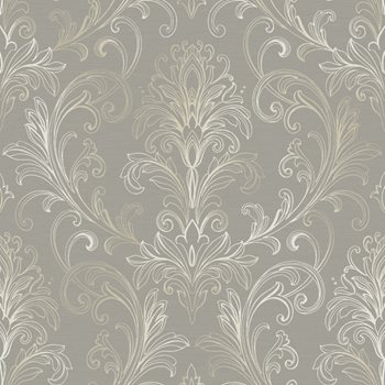 BR6268 Whisper Prints Linear Damask Wallpaper By York