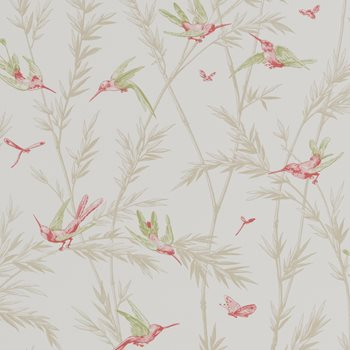 BW45070.2 Waters Edge Willow/Rose by G P & J Baker