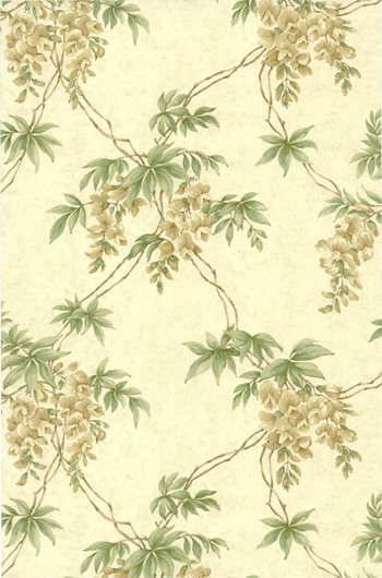 CCP12036 Annabelle Sand Floral Toile by Brewster