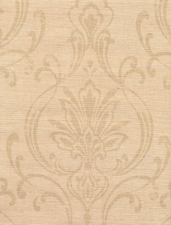 Cx1212 Candice Olson Dimensional Surfaces Scrolling Damask On Grcloth Wallpaper By York