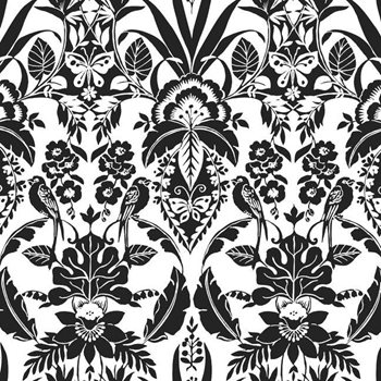 CY1585 Botanical Damask by York