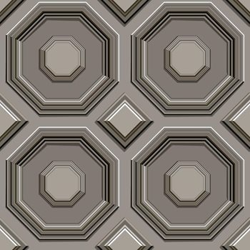 DI4745 Coffered Octagon by York