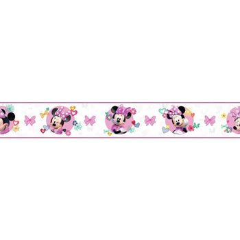 DY0172BD Disney Minnie Mouse Wallpaper Border By York
