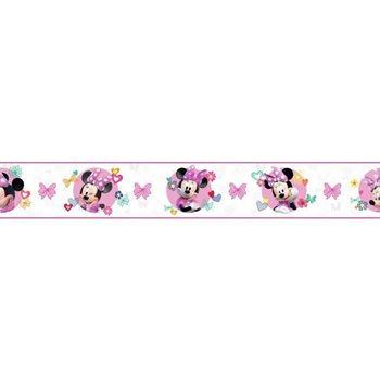 DY0172BD Disney Minnie Mouse Wallpaper Border By York