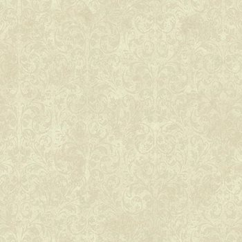EM3859 Shimmering Topaz Allover Scroll Wallpaper by York